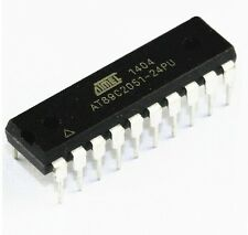 10pcs AT89C2051-24PU AT89C2051 MICROCONTROLLER IC's NEW GOOD
