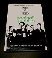 Poolhall Junkies (DVD 2008) Cult Movie CHRISTOPHER WALKEN, CHAZZ PALMINTERI Good