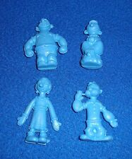Lot of 4 Popeye & Olive Oyl Soft Erasers New Old Stock