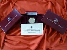 US Mint 1988 Proof Olympic Silver Dollar Coin w/ COA & Box FREE SHIPPING