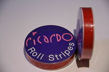 Red 12mm Single Coachline Tape Pin Stripe Self Adhesive Decal Tape 10 Metres