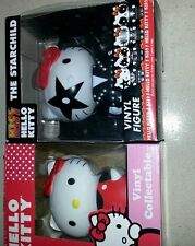 Vinyl figures- (1) HELLO KITTY,  (1) KISS Hello Kitty NIB