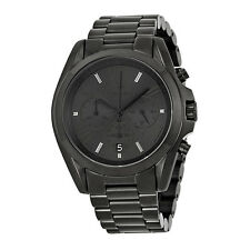 Michael Kors Bradshaw Chronograph Black Ion-plated Mens Watch MK5550