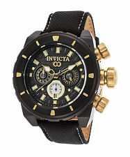 Invicta 22334 Men's Corduba Chronograph Black Nylon Black Dial