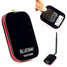 USB WiFi Adapter Antenna BlueWay N9000 free internet High Power  WLAN Network