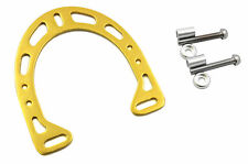 BRAKE BOOSTER PLATE GOLD ALLOY FOR MOUNTAIN BIKE , FREESTYLER, BMX DOWNHILL BIKE