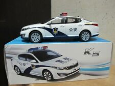 Kia Optima K5 China Police car 1/18 model car free shipping