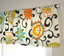 Waverly Pom Pom Confetti Valance Window Valance Window Treatment Foral Curtain