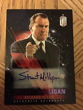 Topps Doctor Who Timeless 2016 Purple Autograph Card Richard Nixon 01/25