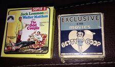 Vintage Betty Boop 16mm & The Odd Couple Black & White Super 8 Movies