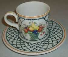 Villeroy & and Boch BASKET espresso cup and saucer
