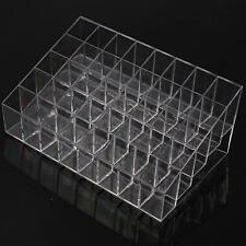 40Grids Lady Cosmetic Makeup Display Lipstick Holder Trapezoid Case Organizer FW