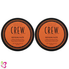 American Crew Defining Paste Medium Hold with Low Shine 3 oz (Pack of 2)