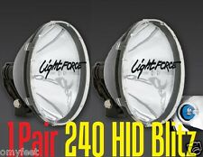 2 Lightforce 240 Blitz hid 12V Driving Working Truck Off-Road Light Force FLD005