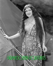 BILLIE DOVE 8X10 Lab Photo B&W 1920s Silent Era Delicate Beauty Portrait, Early