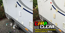 CARA CLEAN - Caravan Cleaner Plastic Restorer, Whitens yellowed plastic