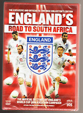 ENGLAND'S ROAD TO SOUTH AFRICA - FOOTBALL - OFFICIAL 2 DISC NEW & SEALED R2 DVD