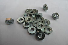 "1/4 Cycle Thread Half Nuts ( 0.158"" thin ) BSA & Triumph CEI BSCY Pack  of 20"