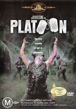 PLATOON (Charlie SHEEN Tom BERENGER) - Oliver STONE War Film DVD NEW Region 4