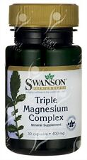Swansons, Triple Magnesium Complex with Mag Citrate, Oxide, Aspartate - x30caps