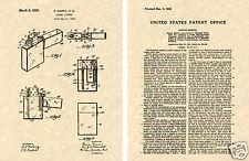 ZIPPO Lighter US PATENT Art Print READY TO FRAME! Original 1936 Gimera Pocket