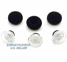3 Small Earbuds Eargels Eartips Foams For Plantronics Voyager Legend Headset