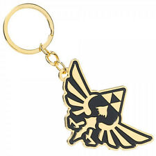 The Legend of Zelda Skyward Sword Metal Triforce Emblem Symbol Figure Keychain