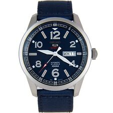 Seiko 5 Sport Men's SRP623 K1 Automatic with Hand Winding and Blue Dial