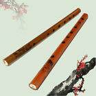 Traditional 6 Hole 24cm Long Bamboo Flute Clarinet Student Musical Instrument