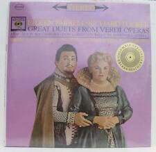 RICHARD TUCKER EILEEN FARRELL GREAT DUETS FROM VERDI OPERAS vinyl LP sealed