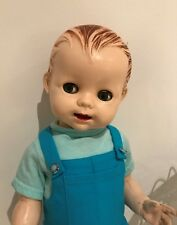 1950s Pedigree Delite Vintage Toddler Hard Plastic Boy Doll