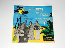 "Die Kilima Hawaiians - 10"" LP - Aus Hawaii und Texas - Philips Minigroove 10216"