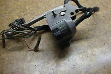 1978 Honda Hondamatic CB400A CB400 CB 400 A Left Switches Controls Horn Lights