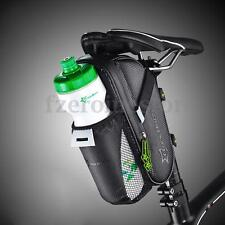 RockBros Cycling Bicycle Saddle Pannier MTB Road Bike Seat Bottle Storage Bag