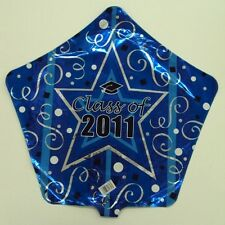 Class of 2011 Star Shaped Mylar Balloon 5th year graduation