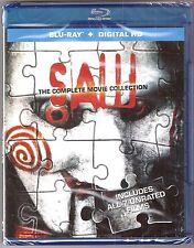 Saw 7-Movie Collection 1, 2, 3, 4, 5, 6 & 7 - Blu-ray + Digital HD BRAND NEW
