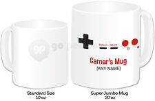 Personalised Jumbo Giant 20oz Mug- Computer/ Game Design- Any Name