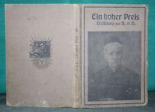 M.v.O., Oertzen, Ein hoher Preis, Erzählung, 1912