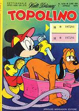 TOPOLINO N° 1218 - 1 APRILE 1979