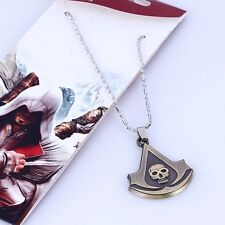 ASSASSIN'S CREED BLACK FLAG EDWARD KENWAY CIONDOLO COSPLAY COLLANA NECKLACE #1
