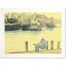 """William Nelson - """"Painting in New England"""" Limited Edition Serigraph"""