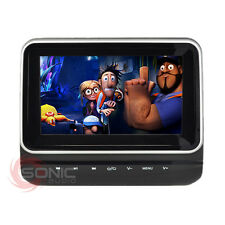 "Clip-on plug-and-play AUTO 7"" HD poggiatesta lettore DVD/Schermo USB/SD BMW x1/x3/x5"