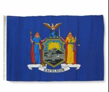 "12x18 12""x18"" State of New York Sleeve Flag Boat Car Garden"