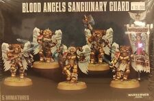 Warhammer 40K Blood Angels Space Marine SANGUINARY GUARD Squad (5 man unit) New