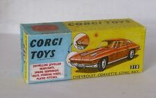 Repro Box Corgi Nr.310 Chevrolet Corvette Sting Ray