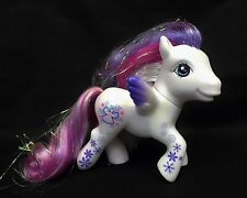 My Little Pony G3 Snow El White Purple Angel Christmas Holiday MLP 25th Birthday