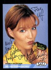 Andrea Ballschuh SAT 1 Autogrammkarte Original Signiert # BC 87727