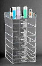 Acrylic cosmetic storage with 7 compartments and pull out drawers (A7)