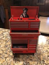 LENNOX Logo Metal Tool Chest Vault PIGGY BANK Possible 1:18 SCALE MODEL