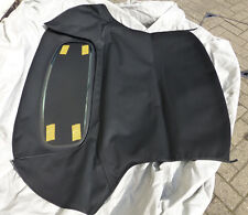 MGF & TF HEATED GLASS REAR WINDOW HOOD, BLACK, BRAND NEW (BGF2003GLASSBLKZ)